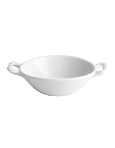 SARTEN DEGUSTACION ASAS 13x3 cm. PORCELANA