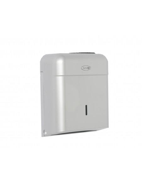 Dispensador de papel toalla. Abs. Gris