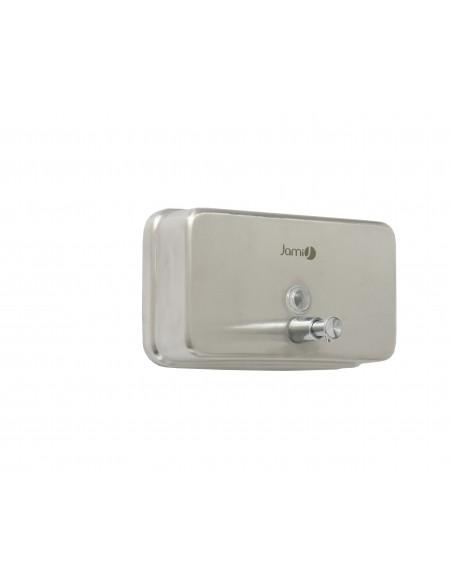 Dosificador de jabón 1L Horizontal. satinado.