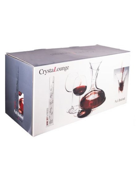 SET 9 PCS CRISTAL LOUNGE