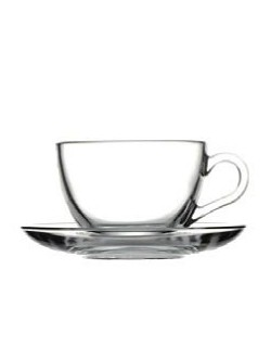 SET BASIC TAZA 23 CL PLATO 13 CM (6 Unid.)