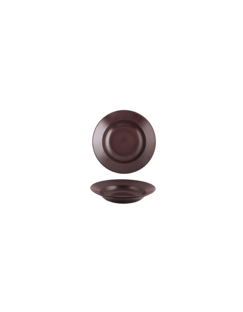 COK PLATO PASTA STONE CHOCOLATE 29 CM