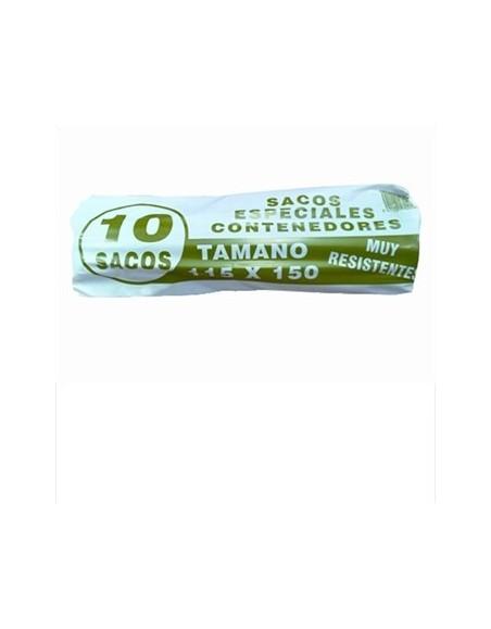 BOLSA BASURA Comunidad 115x150. G-120 B/10 Uds. (20 Paquetes)