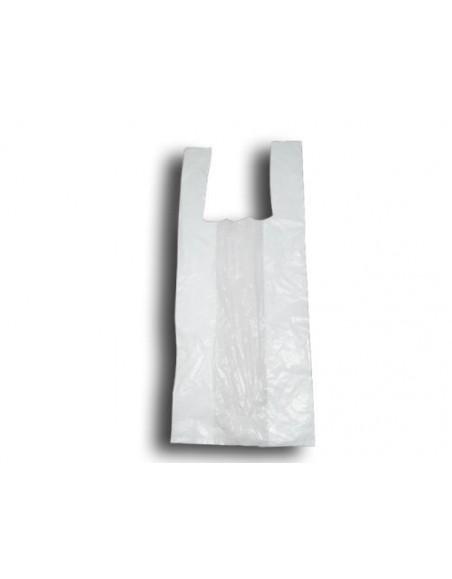 BOLSA CAMISETA 40x50 BLANCA 1 kg. (20 Paquetes)