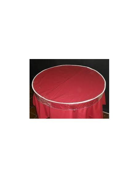CUBREMANTEL PVC AJUSTABLE 100 cm. CIRCULAR Trans.