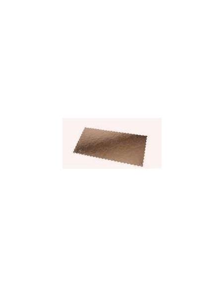 FORMATO CARTON 15x41 cm. CAPPATI ORO/NEGRO 2400 Grs. Pqte. 50 Uds.
