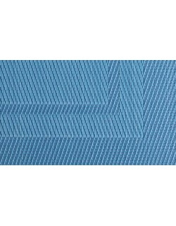 MANTELITO PVC INDIVIDUAL 45x33 cm. AZUL  (6 Unid.)