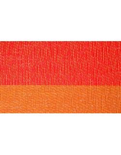 MANTELITO PVC INDIVIDUAL 45x33 cm. NARANJA-ROJO  (6 Unid.)