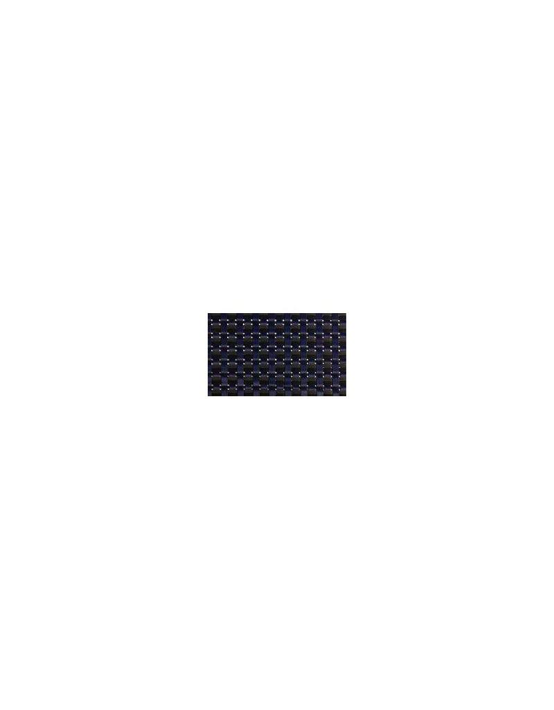 MANTELITO PVC INDIVIDUAL 45x34 cm. AZUL-GRIS (6 Unid.)