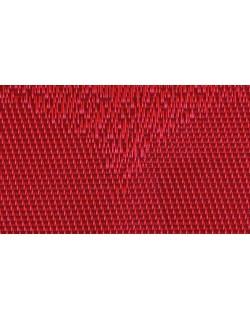 MANTELITO PVC INDIVIDUAL º38 cm. ROJO (6 Unid.)