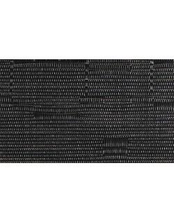 MANTELITO PVC INDIVIDUAL OVAL 49x36 cm. NEGRO (6 Unid.)
