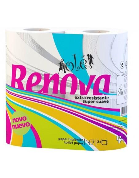 Pte. 12 Rollo Higien. Domest. ECO RENOVA OLE (9 Paquetes)