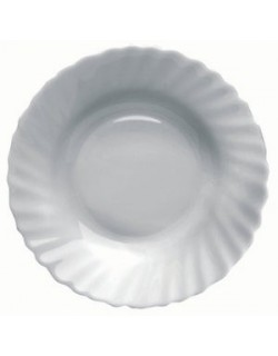 PLATO HONDO PRIMA 23 cm. OPAL