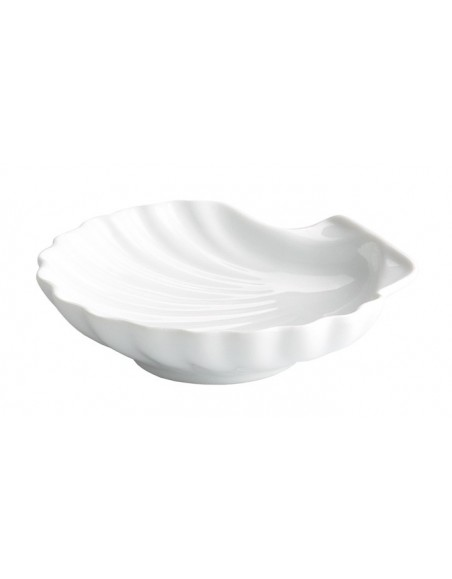 COQUILLE 14x14 cm. PORCELANA
