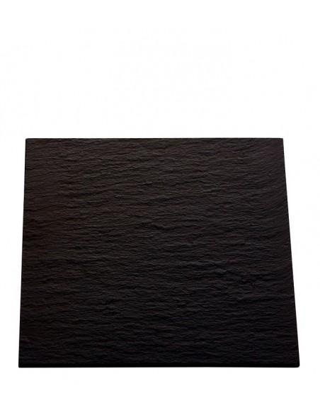 PLATO AFRICA 27x27 cm. PIZARRA