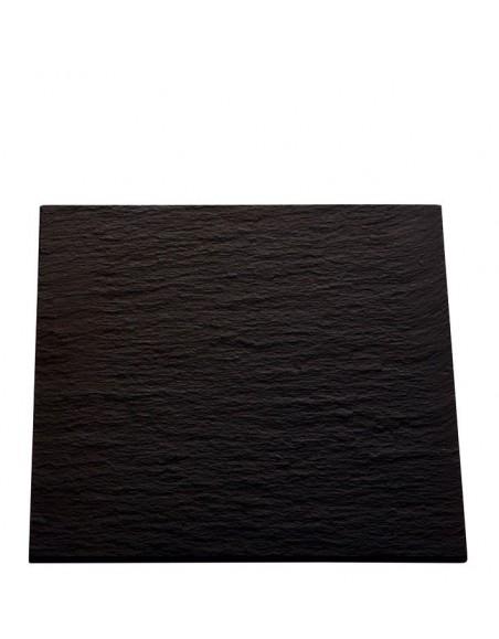 PLATO AFRICA 31x31 cm. PIZARRA