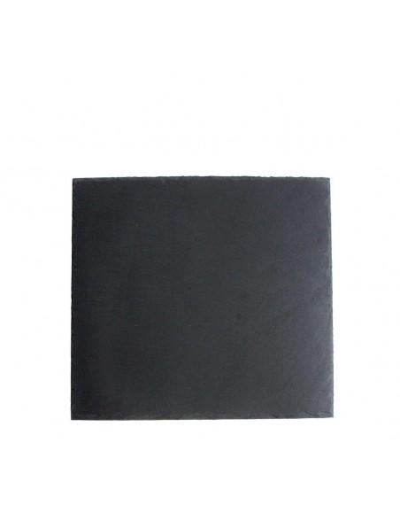PLATO AFRICASOFT 18x18x0'5 cm. PIZARRA