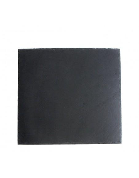 PLATO AFRICASOFT 25x25x0'5 cm. PIZARRA