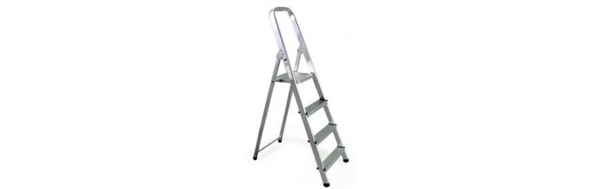 escaleras y taburetes de aluminio
