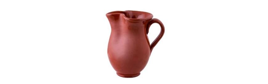 Jarras de cerámica